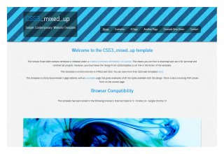 CSS3 mixed_up