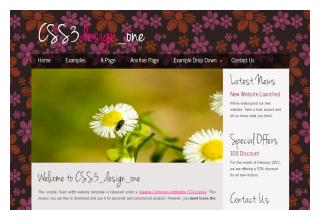 CSS3_design_one