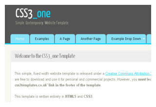 CSS3 Templates | Free CSS3 Templates, Free HTML5 Templates